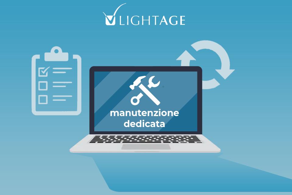 servizio di manutenzione dedicata per l'aggiornamento di siti web