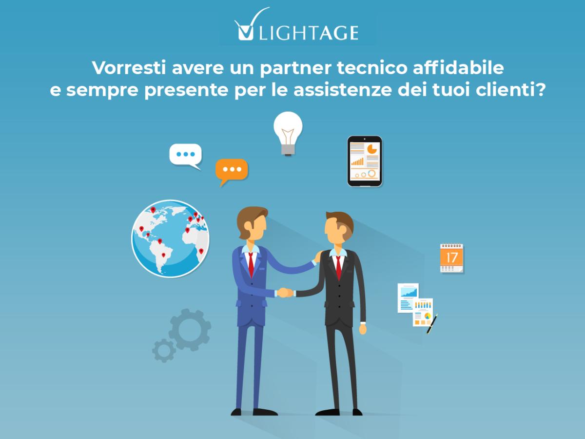 Vorresti avere un partner tecnico affidabile e sempre presente per le assistenze dei tuoi clienti?
