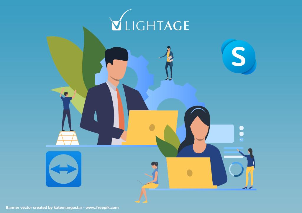 assistenza remota con skype o teamviewer